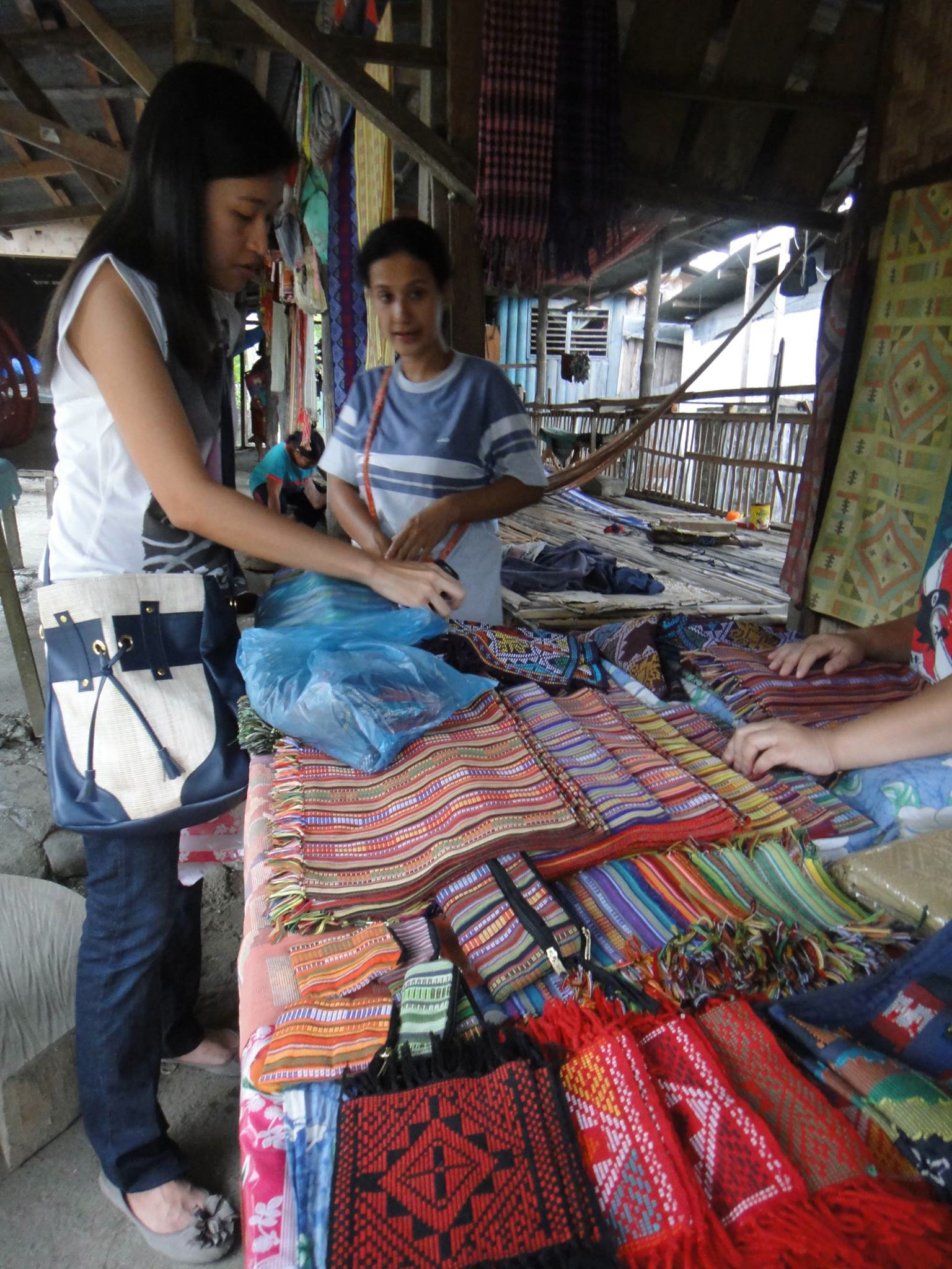 FOCUS. Martha Rodriguez says what differentiates Mindanaoan textiles is the focus on patterns, texture, and color.