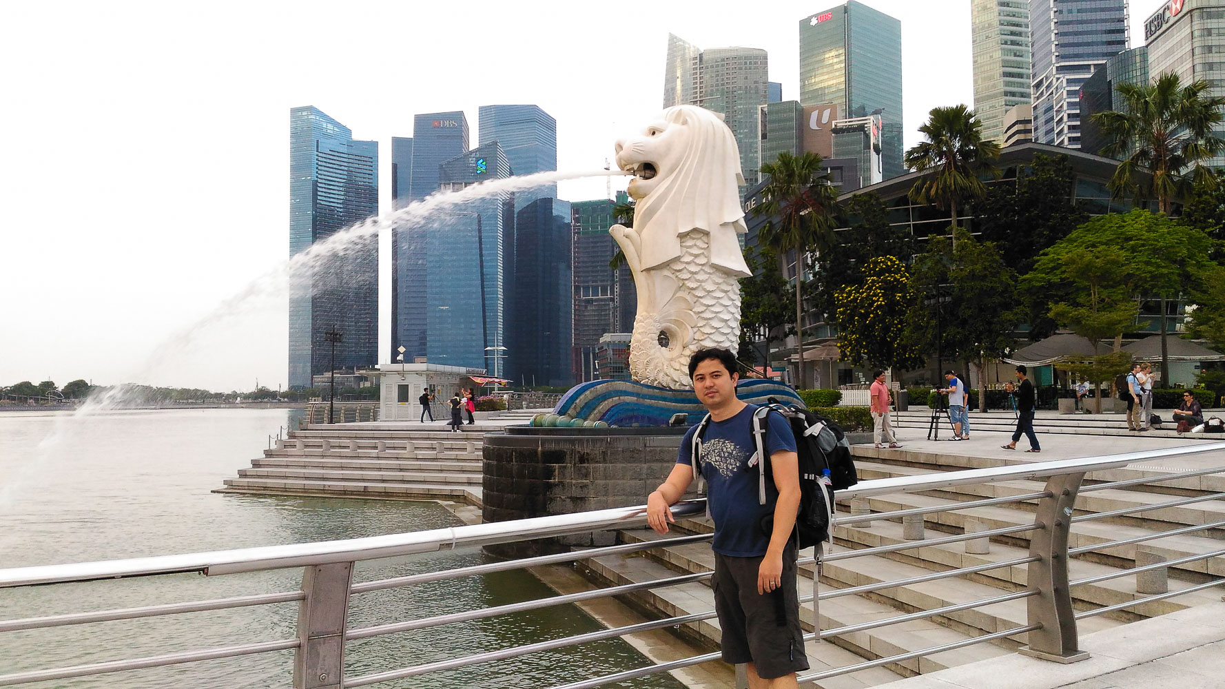 Meeting the Merlion in Singapore