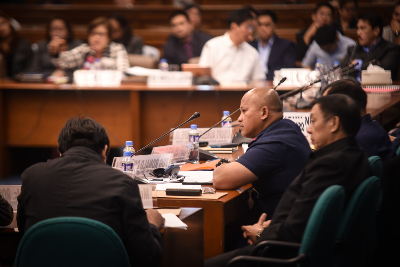 NO DDS? PNP chief Ronald dela Rosa denies the existence of the so-called 'Davao Death Squad.' Photo by LeAnneJazul/Rappler