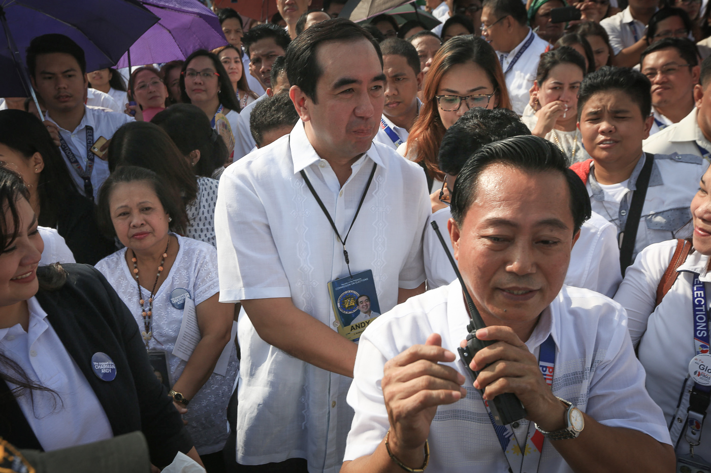 IMPEACHED. Comelec chairman Andres Bautista is impeached on the same day he announces his resignation effective December 31, 2017. File photo by Ben Nabong/Rappler