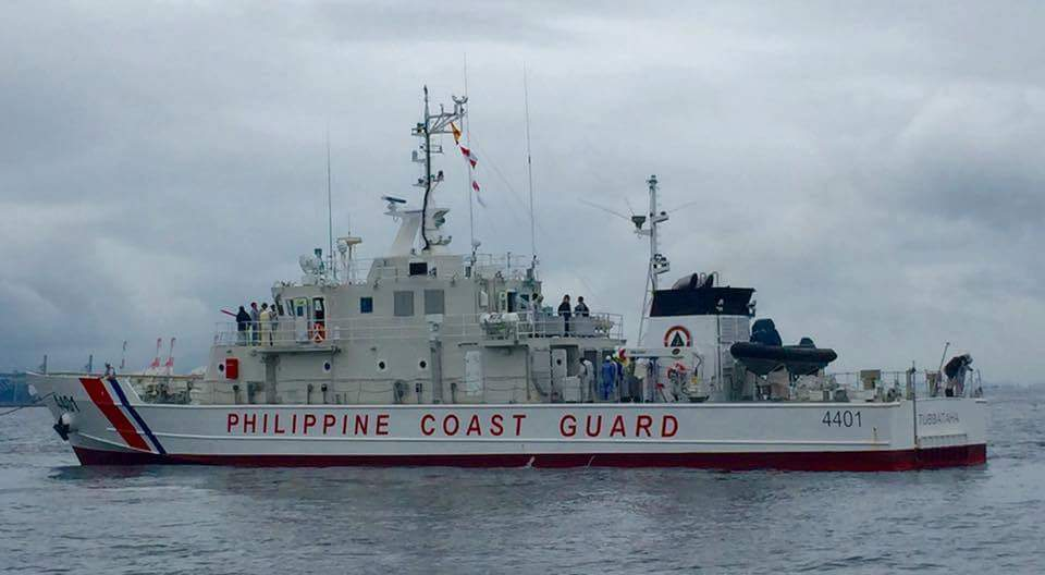 BRAND NEW. BRP Tubbataha, an MRRV-4401, was commissioned in October 2016