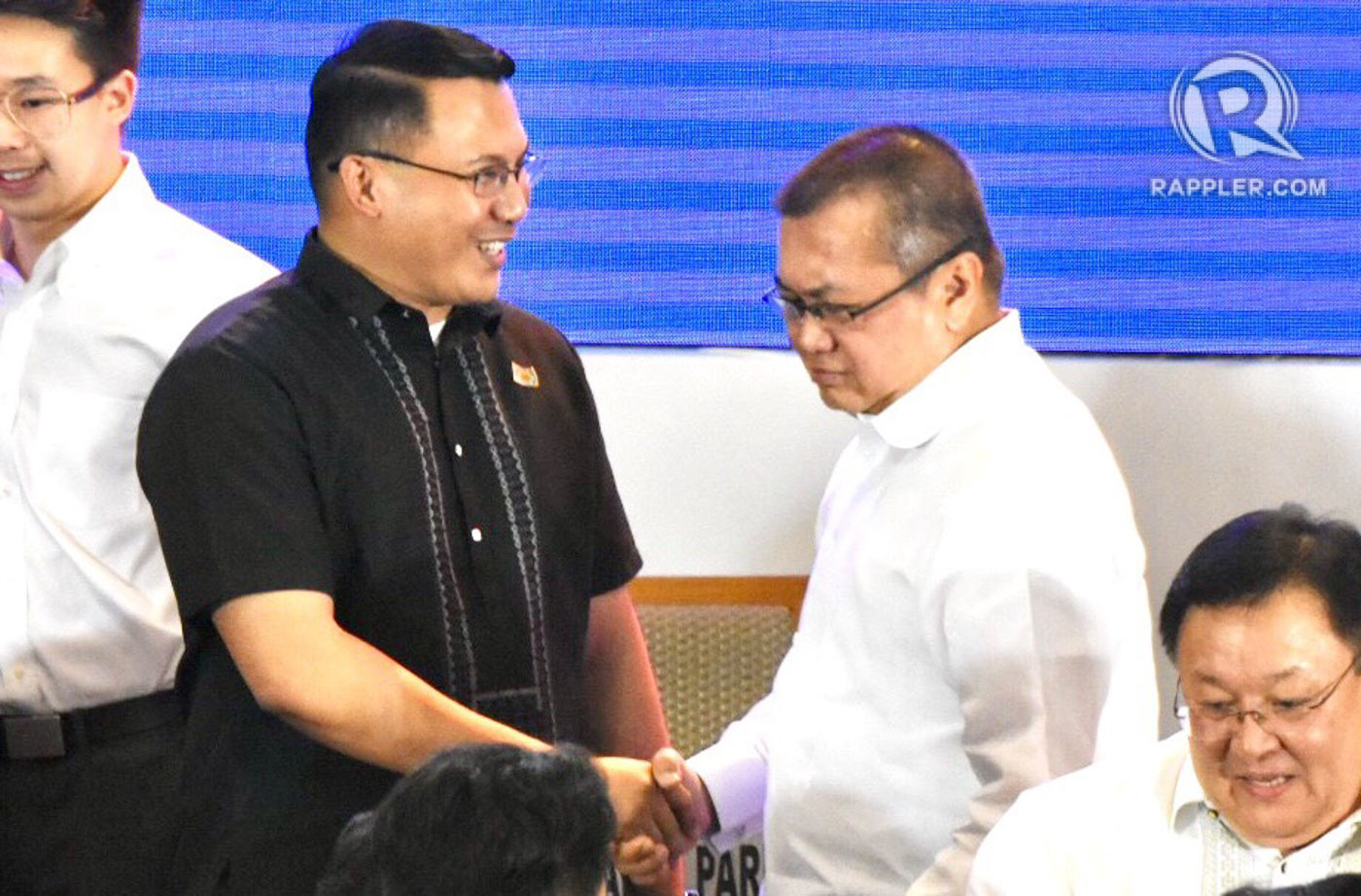 'DUTERTE YOUTH.' The controversial Ronald Cardema attends the proclamation of winning party-list groups on May 22, 2019. Photo by Angie de Silva/Rappler
