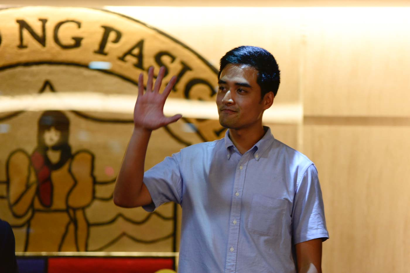 NO CORRUPTION. Pasig City Mayor vows never to accept u0022kickbacksu0022 as he pushes for transparency in bidding for public projects. File photo by Rob Reyes/Rappler