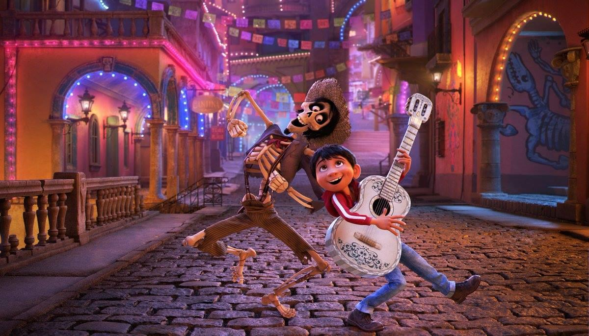 'COCO.' Even though she deals with 3D animation day-to-day, Gini is still inspired by 2D work. Photo courtesy of Disney-Pixar