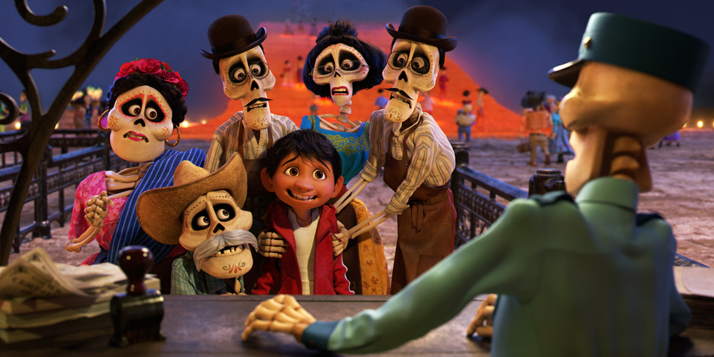 SKELETONS. According to Gini, one of the biggest challenges of animating 'Coco' was making the skeletons, which are usually associated with horror, appealing to audiences. Photo courtesy of Disney-Pixar