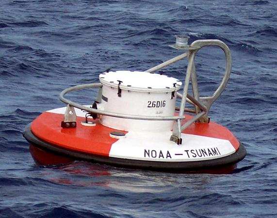 TSUNAMI BUOY. Badan Nasional Penanggulangan Bencana (BNPB) mengatakan alat pendeteksi tsunami di Indonesia tidak ada satu pun yang berfungsi. Foto diambil dari situs NOAA