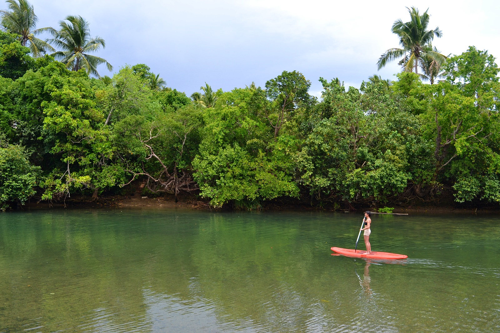 SUP in Bugang River. Photo by Aleah Taboclaon