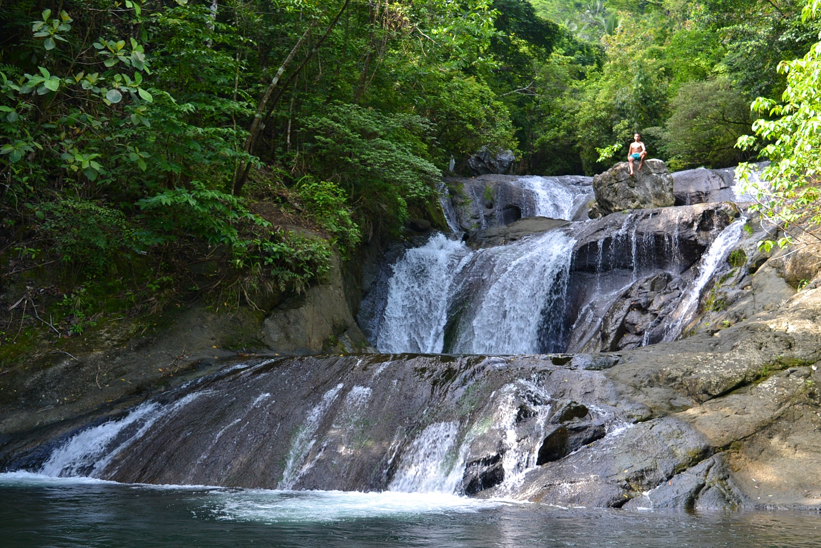 Igpasungaw Falls. Photo by Aleah Taboclaon