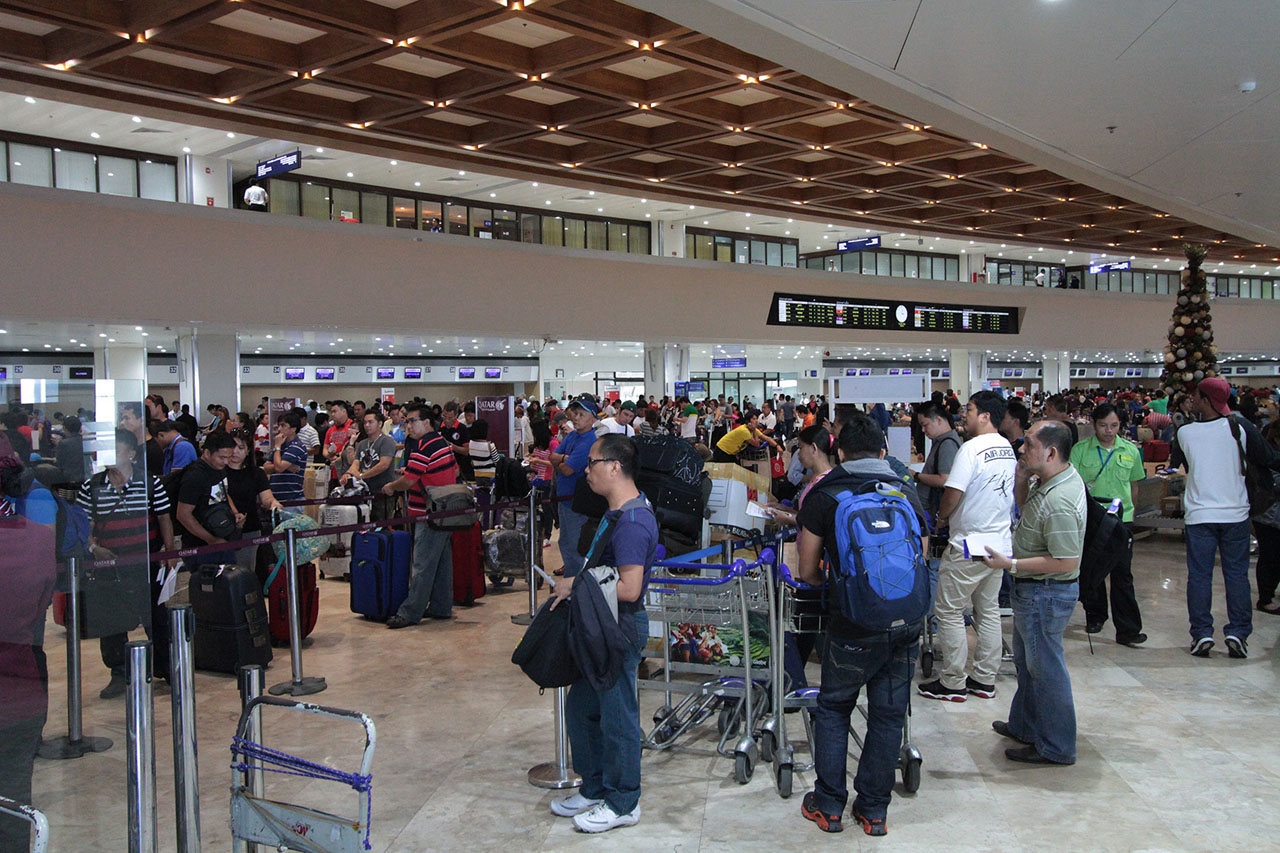 BACK TO NORMAL. Now, flight operations at NAIA are back to normal. Photo by Jedwin M. Llobrera/Rappler