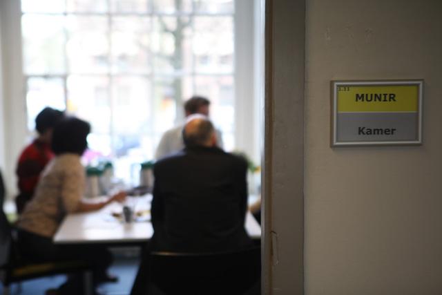Peresmian ruangan Munir Kamer di kantor Amnesty International, Amsterdam, 13 April 2015.