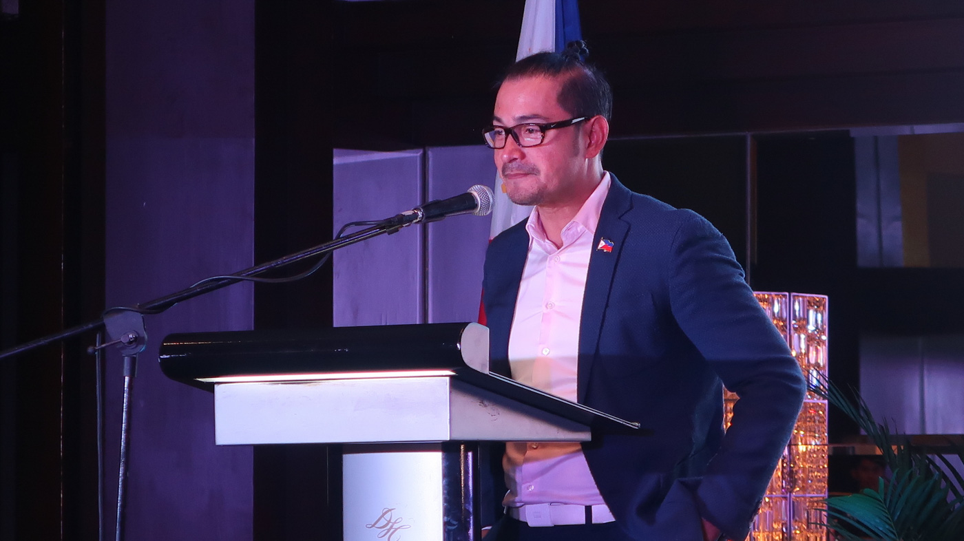 TPB CONTROVERSY. Cesar Montano has battled a number of issues during his tenure as Tourism Promotions Board head. File photo by Precious del Valle/Rappler