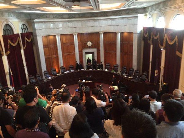 TAKING THEIR SWEET TIME. The Philippine Supreme Court. File photo courtesy of SC-PIO