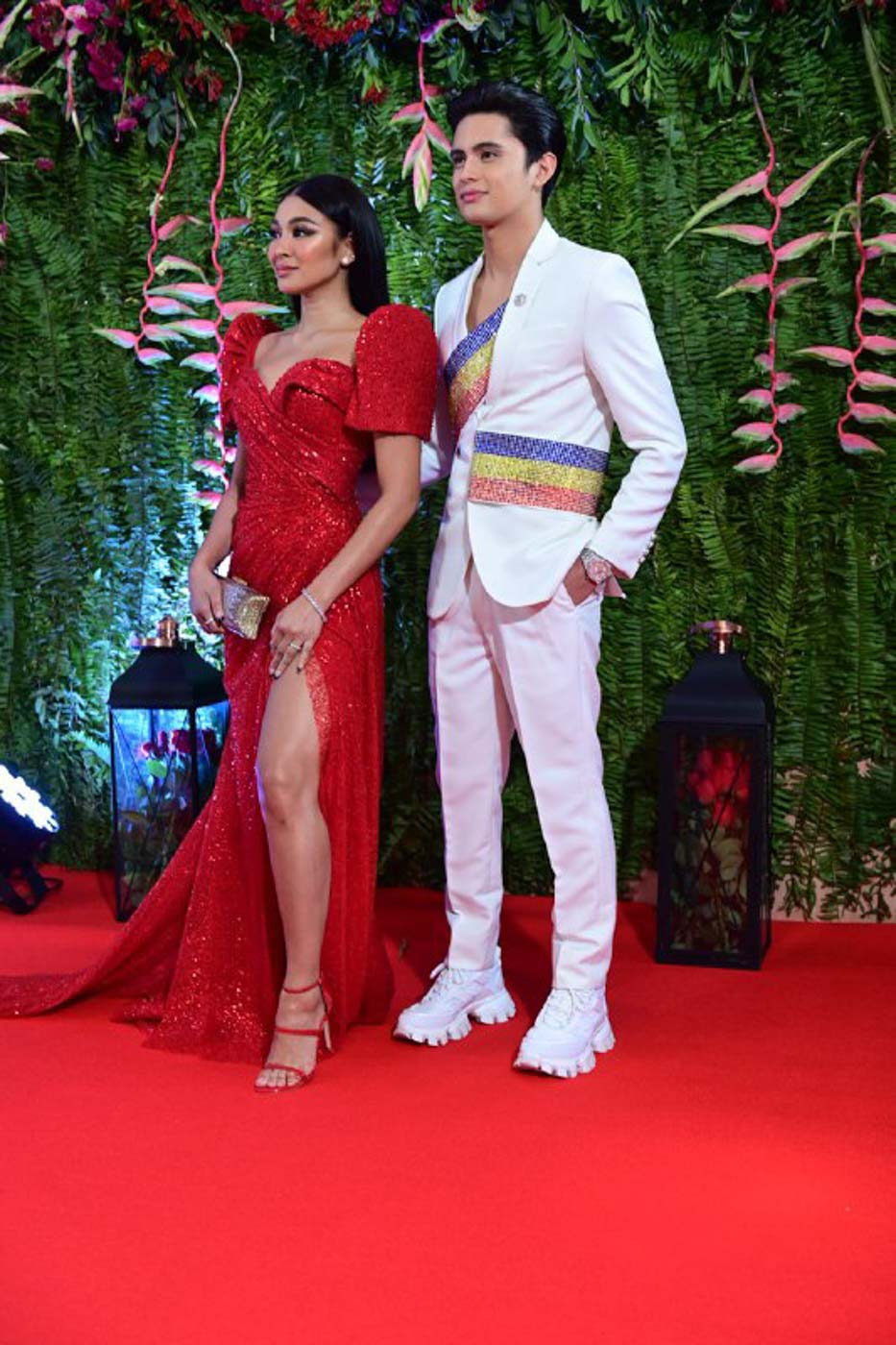 JADINE IN 2019. The love team attend the ABS-CBN Ball in 2019. File photo by Alecs Ongcal/Rappler