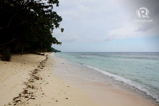 PEACE AND QUIET. One of the many unspoiled white sand beaches in Sibutu