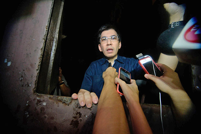 LEADER'S BROTHER. Angel Manalo, brother of Iglesia ni Cristo (INC) head Eduardo Manalo, exposes the alleged corruption in the INC. The INC says it is considering to file a case against its critics, but has not named the persons it can possibly sue. Photo by Alecs Ongcal/Rappler
