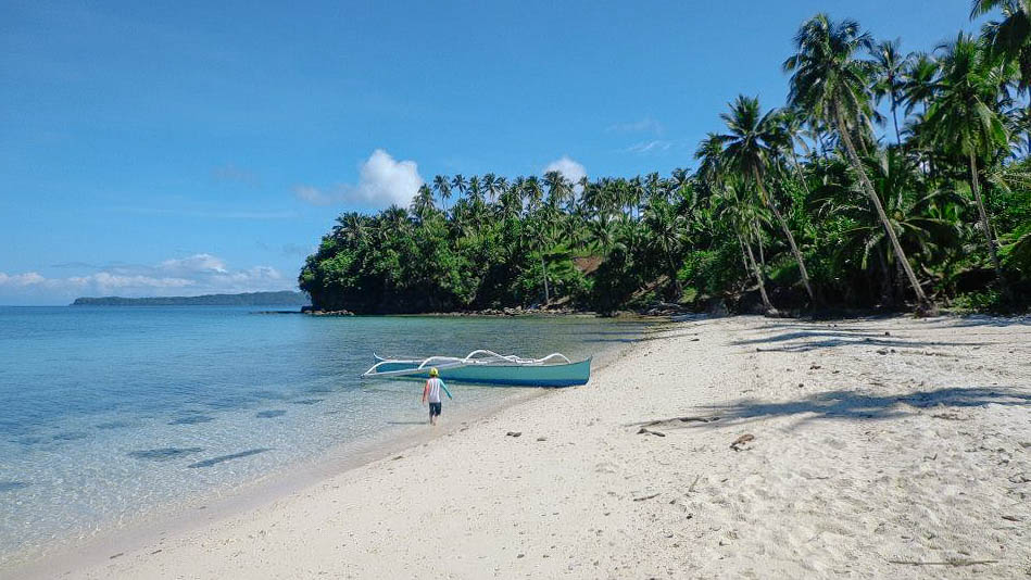 WHITE. Dinagat has a handful of bone, white sand beaches that sees very few tourists. Photo by Joshua Berida