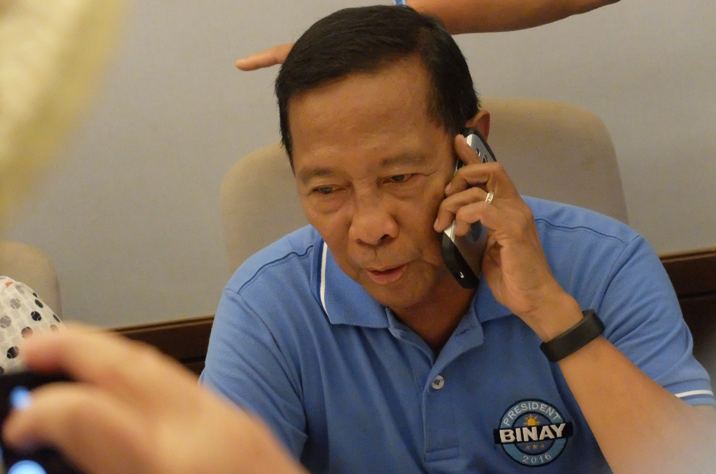 STILL BUSY. Outgoing Vice President Jejomar Binay reveals his plans after June 30. File photo by Alecs Ongcal/Rappler