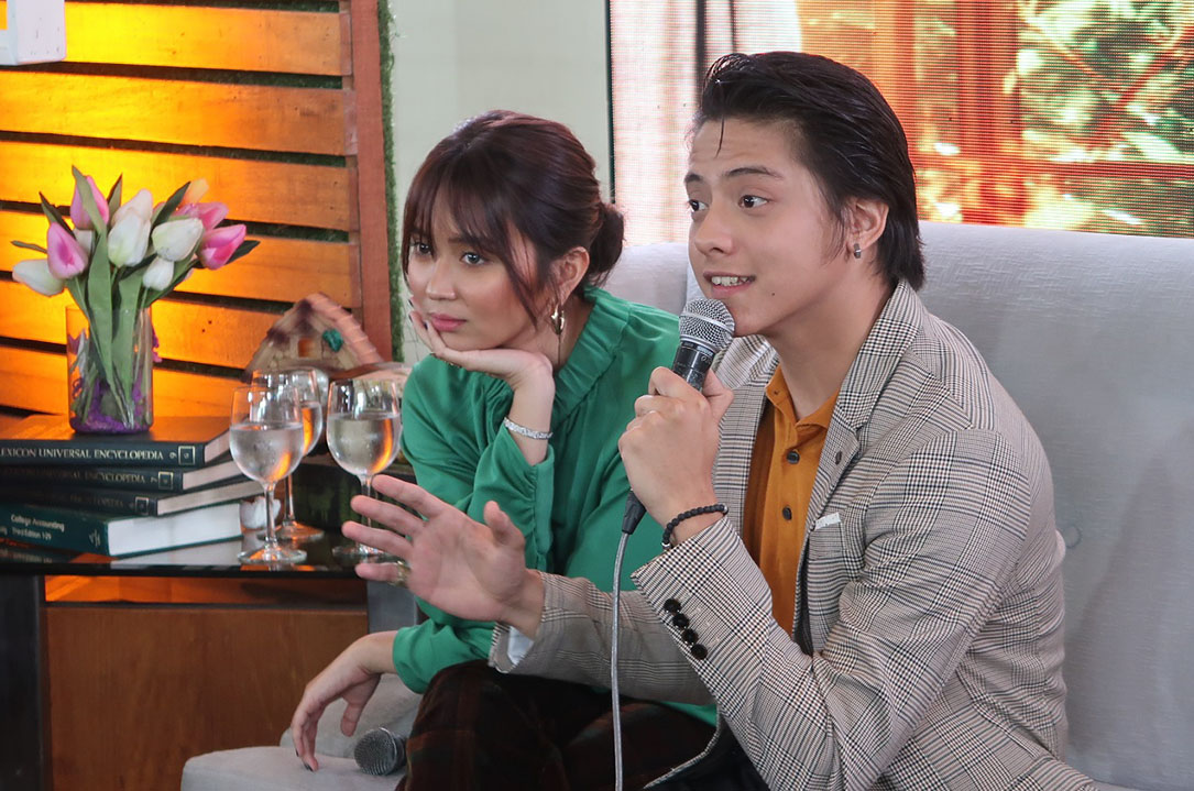 WORTH WATCHING. Kathryn and Daniel share they want to do movies that have meanings for fans.