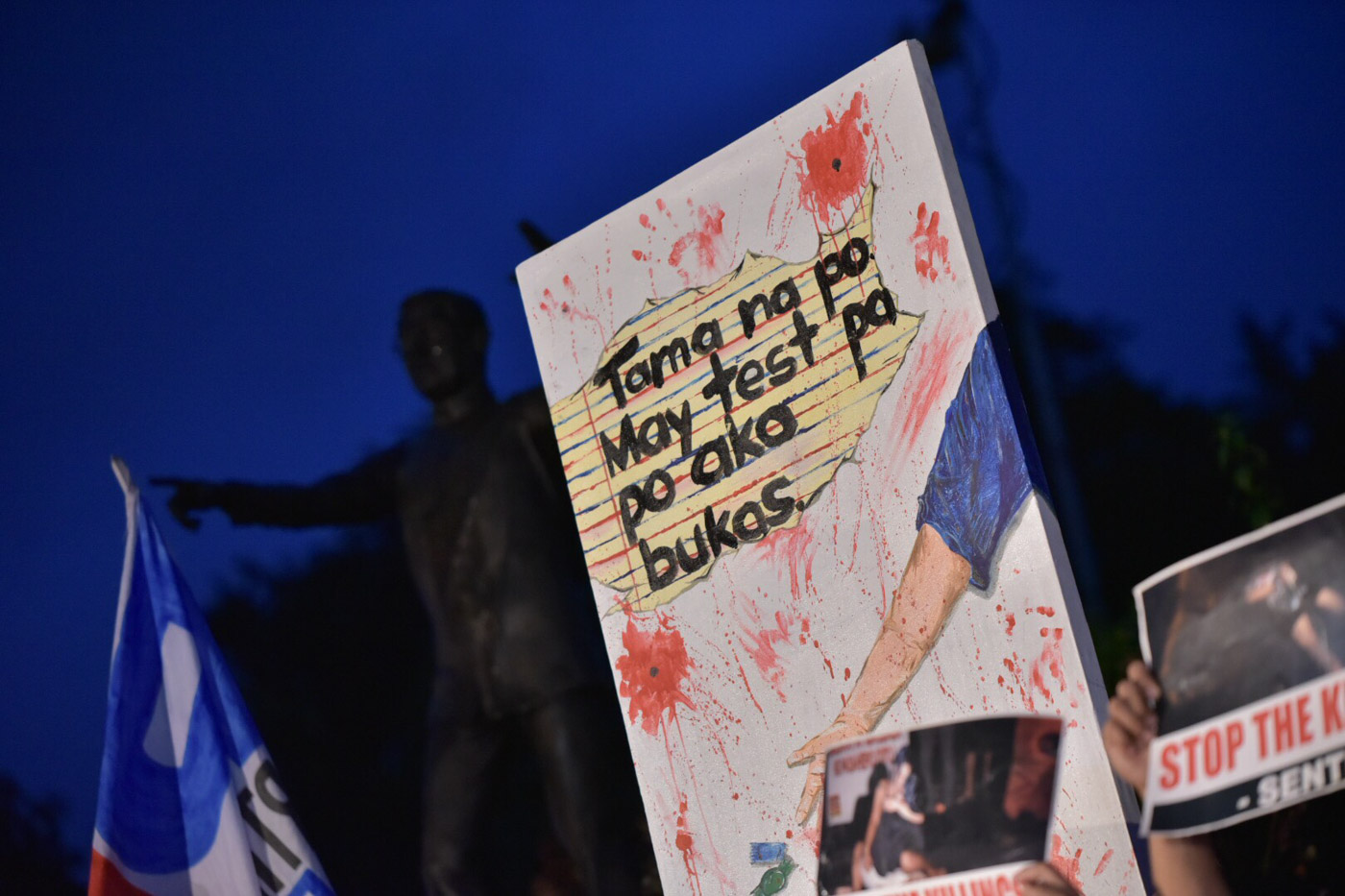 JUSTICE. Public calls for justice. Photo by Alecs Ongcal/Rappler