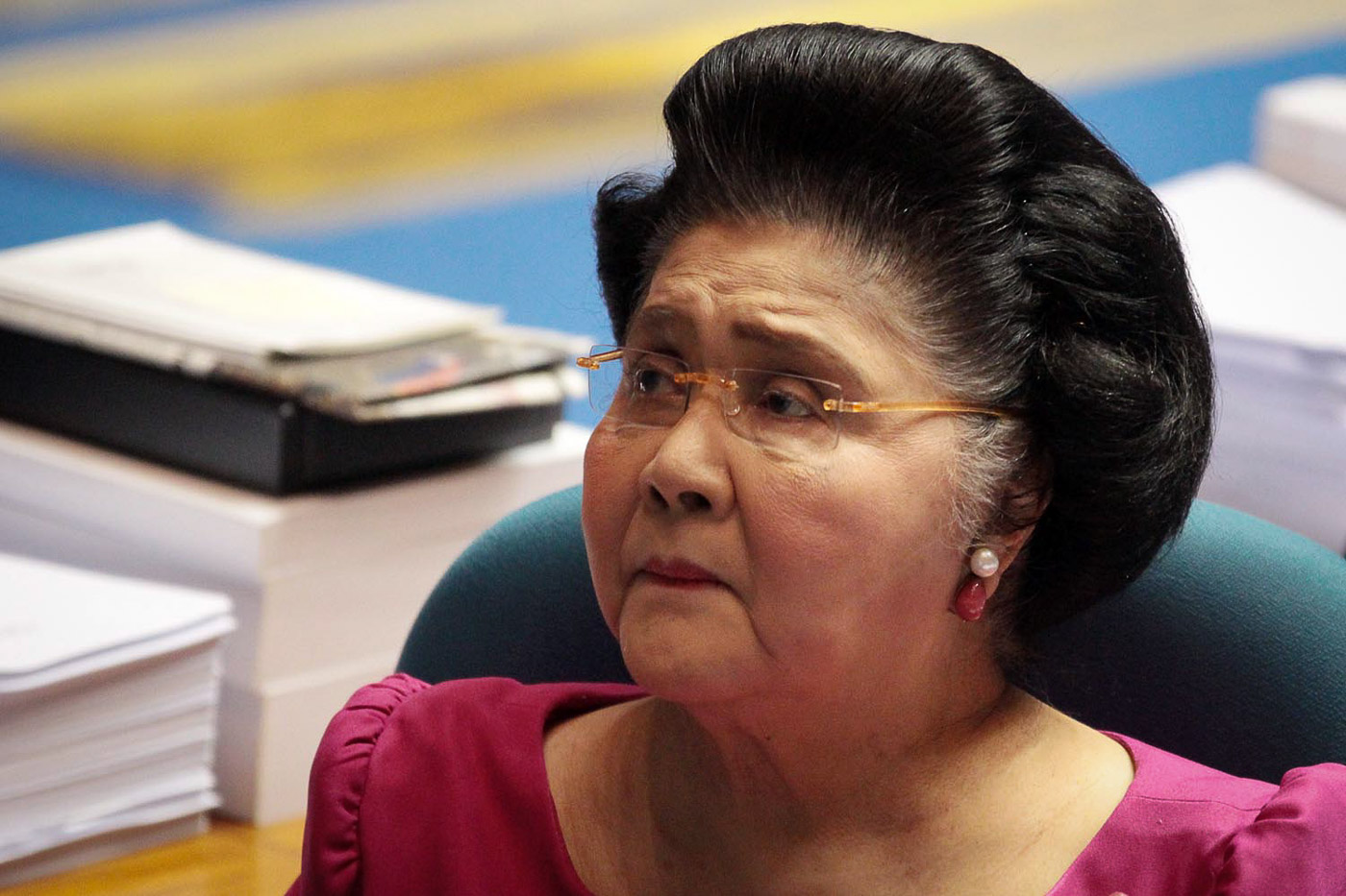 NO LIMITS. Ilocos Norte Rep. Imelda Marcos is running for governor in 2019. File Photo by Darren Langit/Rappler