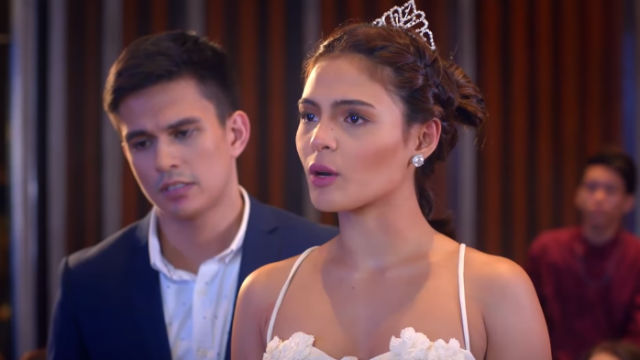 NOT YOURS. Maxene is Esward's legal wife, who close to Nicole.