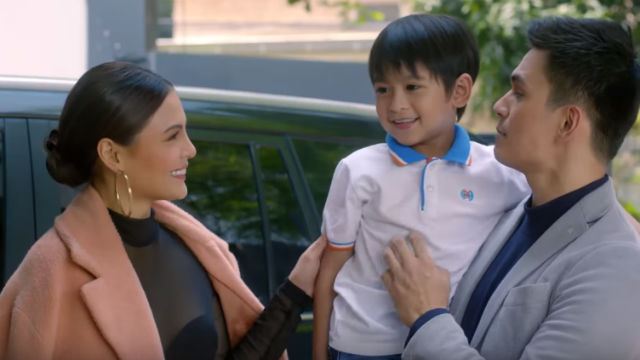 HAPPY FAMILY. Maxene and Edward's family is tested with Edward's infidelity.