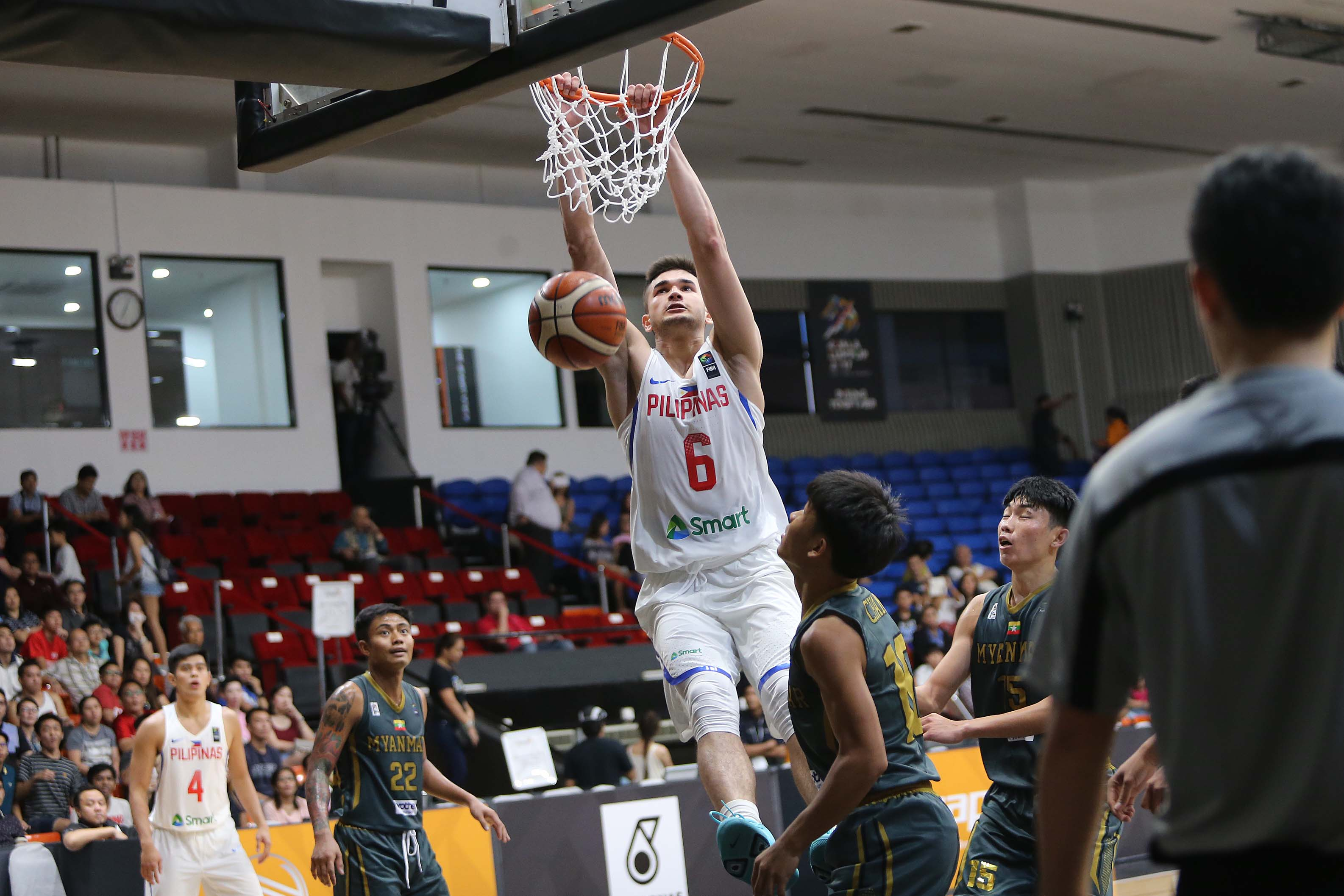 BREAKOUT. Kobe Paras shows what he can do in the 2017 Southeast Asian Games. Photo from PSC/POC Pool