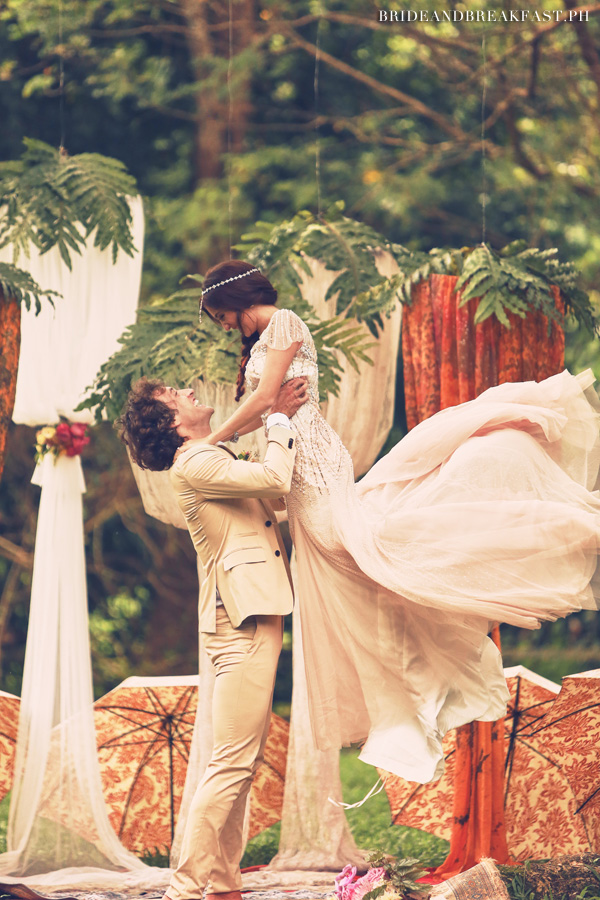Photo used with permission from Bride and Breakfast/Mark Nicdao