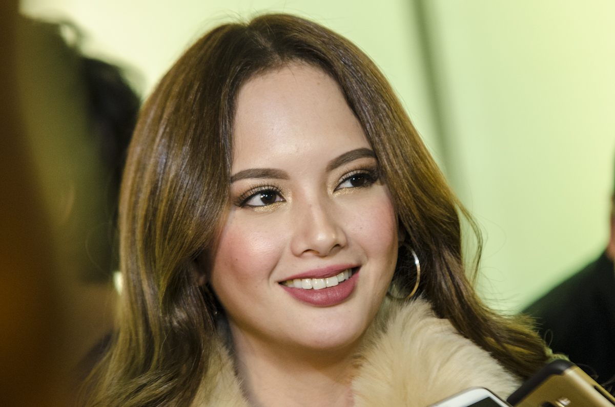BABY BUMP ALERT. Ellen Adarna has been spotted with her growing baby bump in Palawan. File photo by Rob Reyes/Rappler