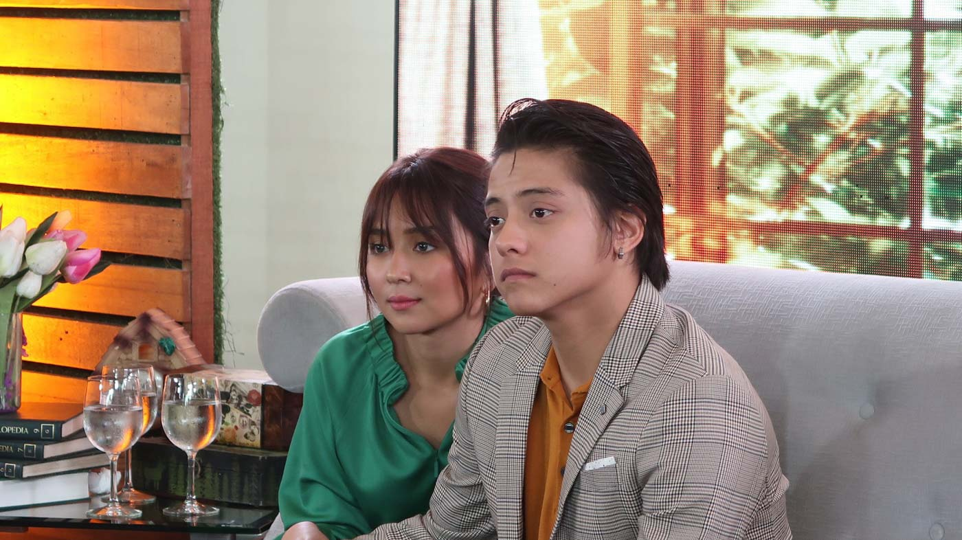 EACH OTHER'S BACK. Kathryn and Daniel said they made a commitment to put time for each other and time separately.