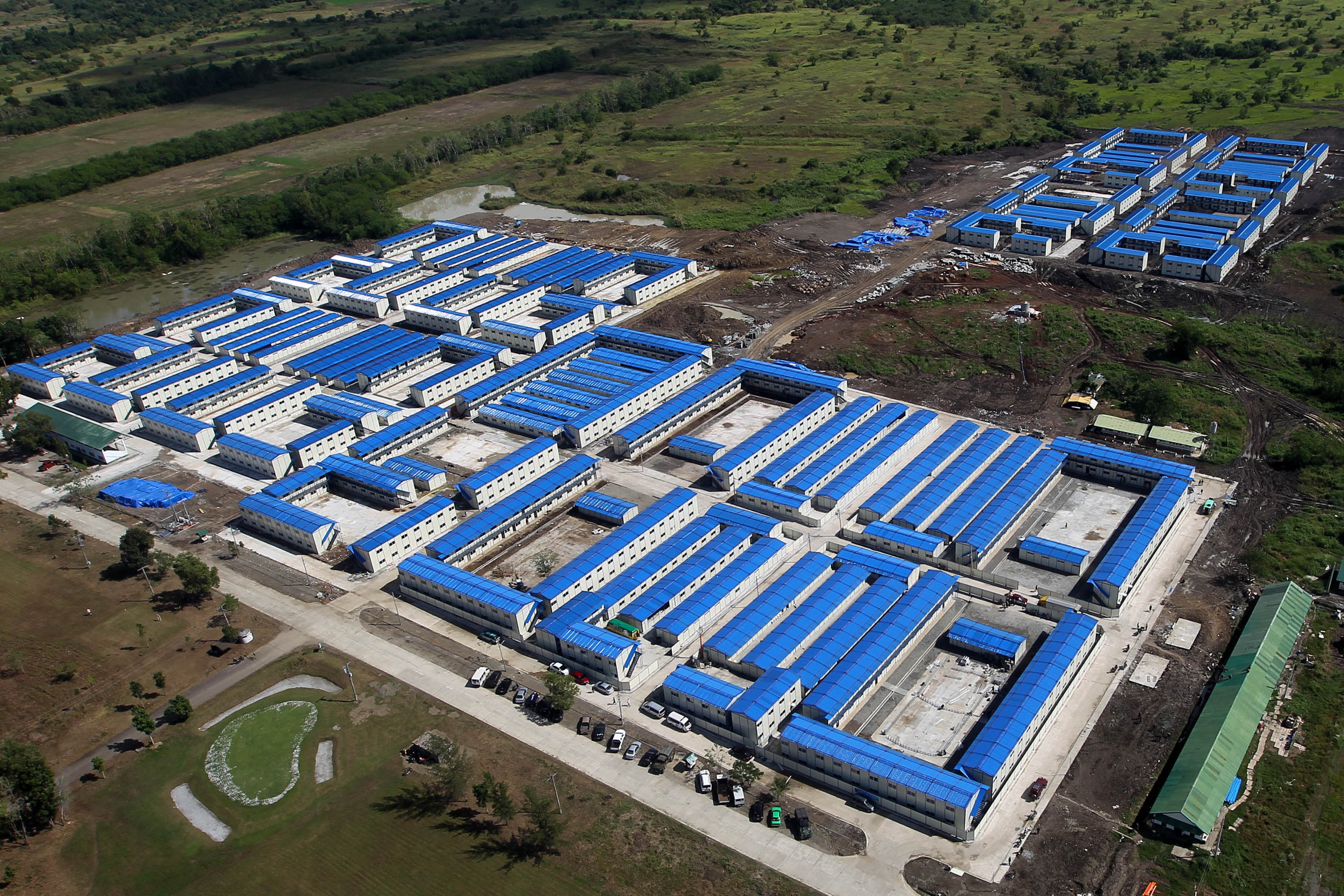 MEGA TRC. An aerial photo of the mega drug treatment and rehabilitation center in Nueva Ecija, funded by Chinese tycoon Huang Rulun. Malacau00f1ang file photo