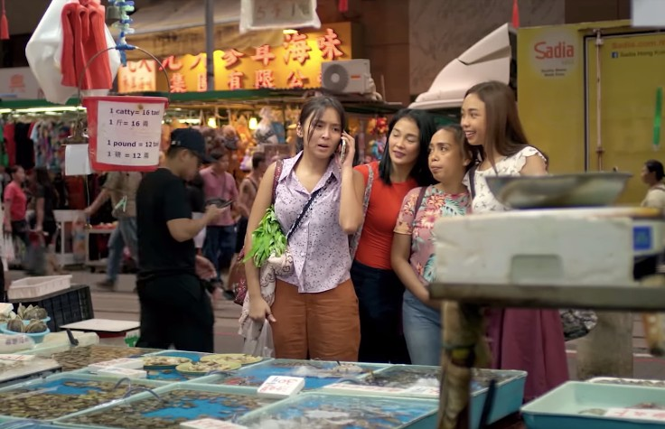 OFW LIFE. Joy and her friends go through lives as Filipino workers in Hong Kong.