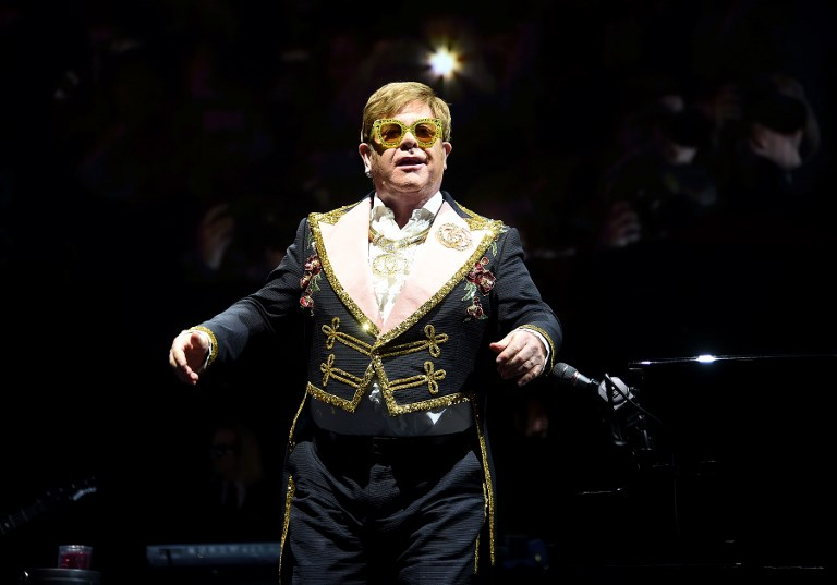 THE MUSIC MAN. Elton John performs onstage at Madison Square Garden on March 05, 2019 in New York City. Jamie McCarthy/Getty Images/AFP