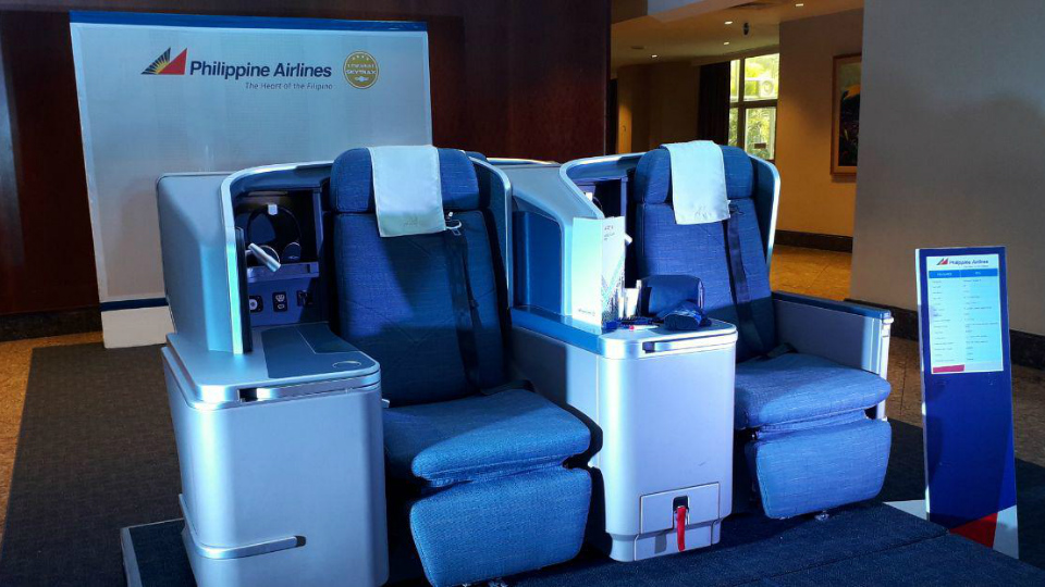 PREMIUM ECONOMY. Philippine Airlines offers a new class service for select international and domestic flights. Photo by Aika Rey/Rappler