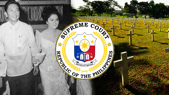 IRRELEVANT. The Marcos camp said the human rights claims of Martial Law victims are 'irrelevant' in the case against the late President Ferdinand Marcos at the Heroes' Cemetery.