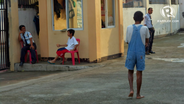 BAHAY PAG-ASA. Children in conflict with the law can freely move inside the compound. File photo
