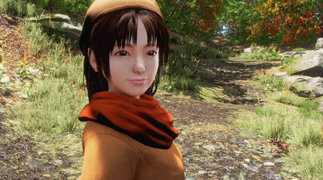 SHENMUE 3. Screen shot from Kickstarter page.