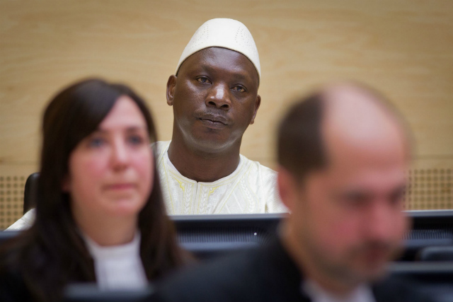 FIRST CONVICTION. The International Criminal Court in 2012 hands down its first conviction as Thomas Lubanga Dyilo is found guilty of the war crimes. Photo from ICC