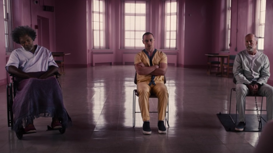 NUMBER ONE. 'Glass' stays atop the North American box office for a third weekend. Screenshot from Universal Pictures' Youtube page