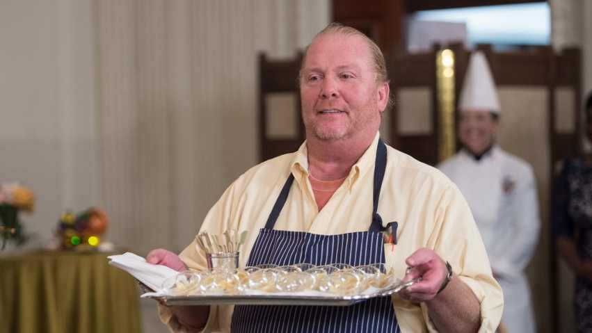 CRIMINAL CHARGES. Celebrity chef Mario Batali will be arraigned for sexual assault and battery. Photo by Nicholas Kamm/AFP