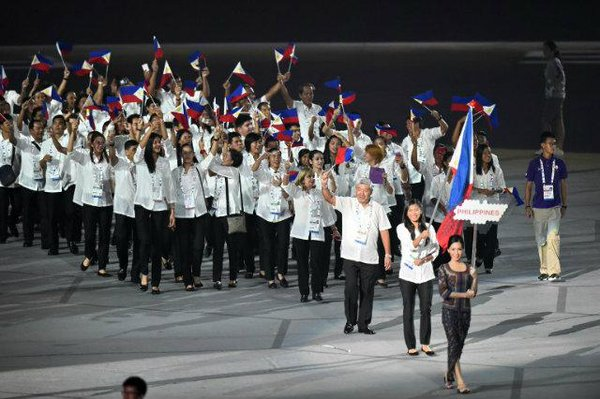 DECLINING PERFORMANCE. The Philippine team's performance has consistently dipped in the Southeast Asian Games. File Photo from Rappler