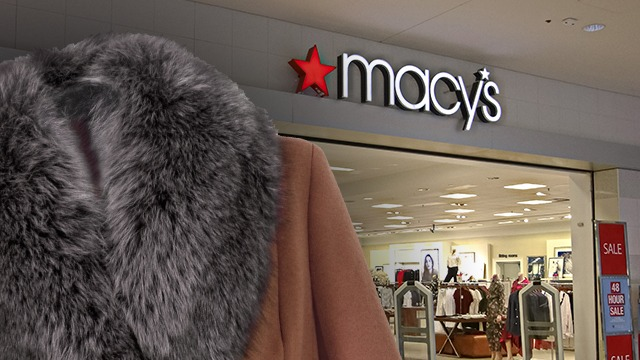 NO MORE FUR. Retail chain Macy's announced that fur will no longer be sold in their stores beginning 2021. Photo from Shutterstock