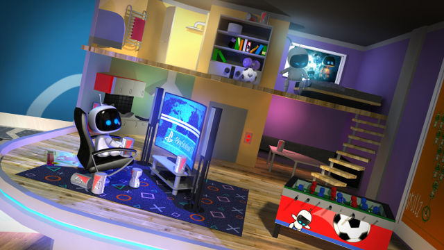 PLAYROOM VR: ROBOTS. Image from Sony