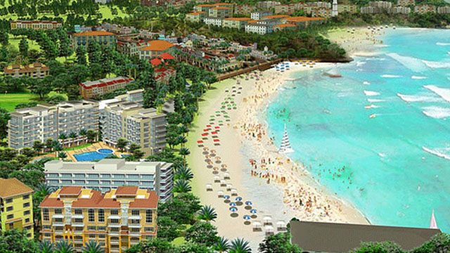 MORE ESTABLISHMENTS. Boracay Newcoast will also house a golf course, transport terminal, condominium, casino, among others. Concept photo from Boracay Newcoast website