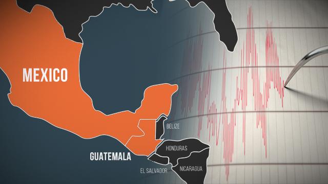 EARTHQUAKE. Mexico and Guatemala experience a 6.5 magnitude earthquake on February 1, 2019.