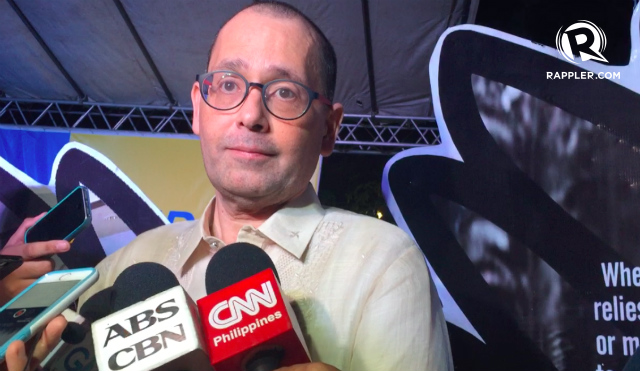 CONSTITUTIONAL MANDATE. CHR Chairperson Chito Gascon vows that the commission will continue to do its job as mandated by the 1987 Philippine Constitution. File photo by Jodesz Gavilan/Rappler