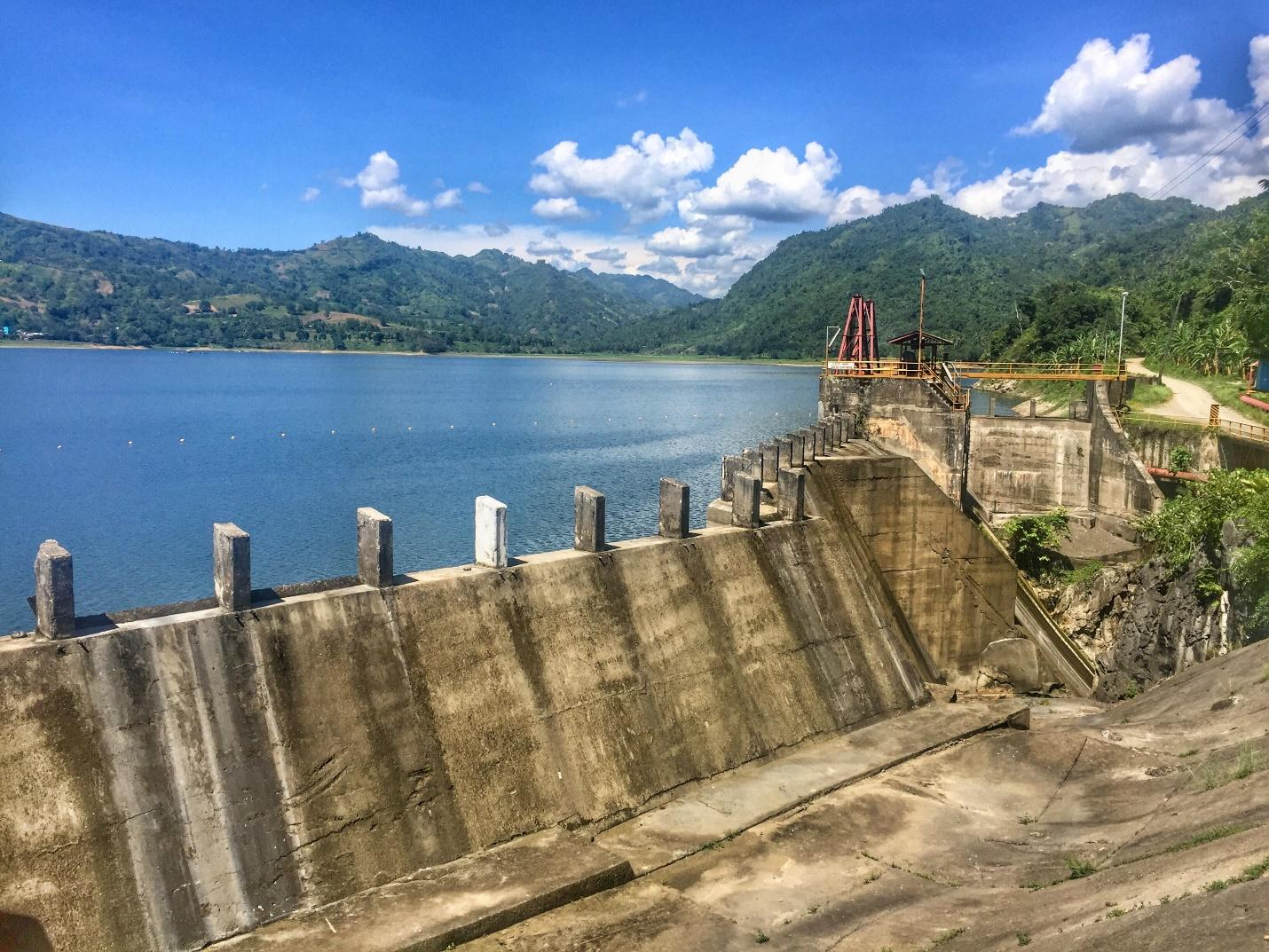 INFRASTRUCTURE. The Buhisan Dam in Cebu, a key source of water for the province. Photo by Sarah Hartman