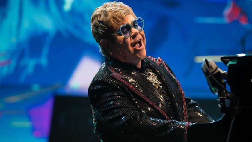 TOP HONOR. The 72-year-old music star will be presented with the highest civilian award from France. Photo from Elton John's Instagram account