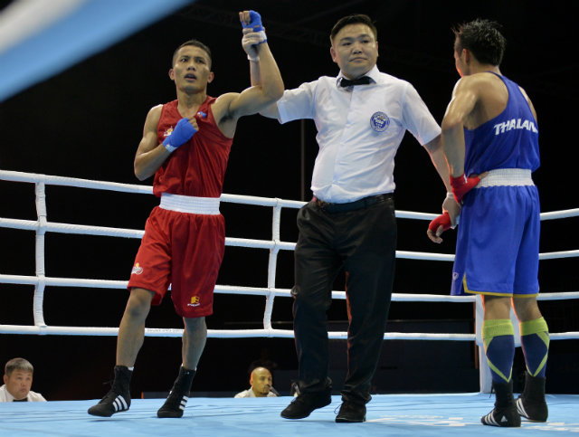 SUPER MARIO. Mario Fernandez wins his second straight SEA Games gold medal. Photo by Singapore SEA Games Organising Committee/Action Images via Reuters