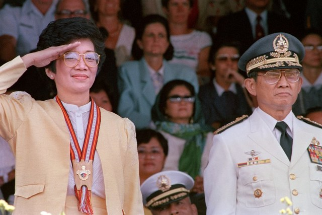 CORY. File photo of President Corazon Aquino by Romeo Gacad/Agence France-Presse